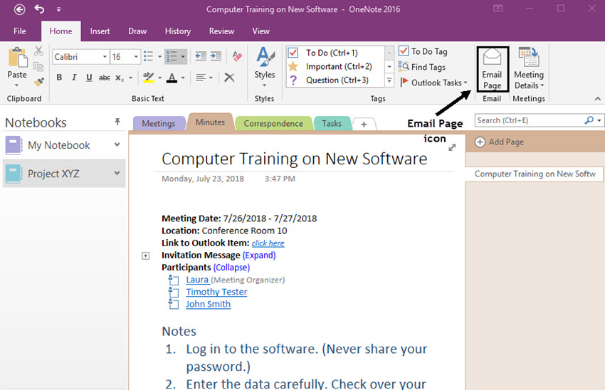 benefits of Microsoft OneNote